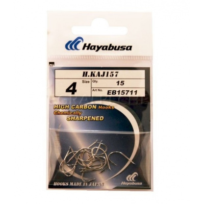 Hayabusa Hooks H.KAJ 157/10 rybářské háčky