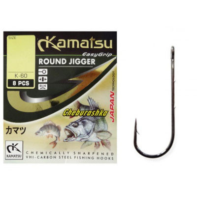 Kamatsu háčky čeburaška Round Forged K-60 3/0